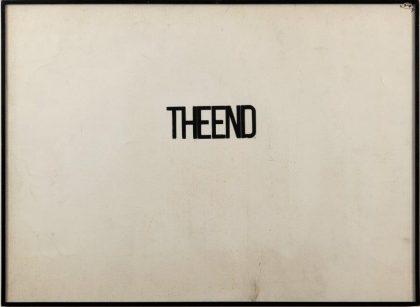 Fabio Mauri: The End