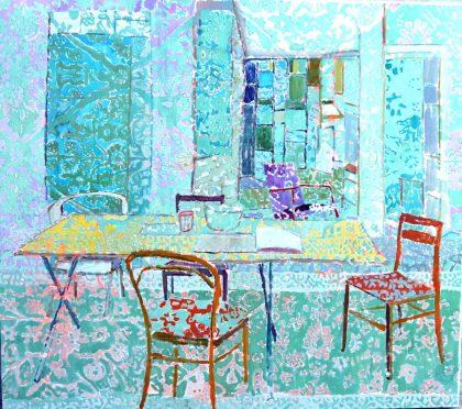 mellem/rum – mellem keramik og maleri