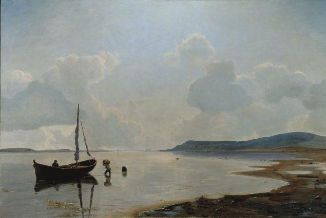 Vilhelm Kan, Ved Issefjorden, 1883. Pressefoto