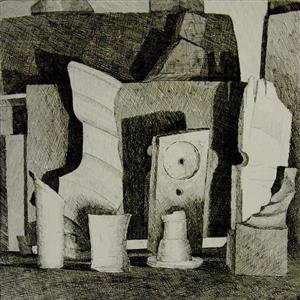 Poul Winther: Grafiske arbejder fra museets samling