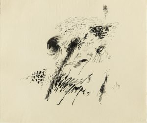 Kasper Heiberg: Akvareller, kruseduller – og tuschtegninger