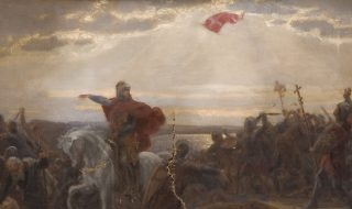 Ole Henrik Benedictus Olrik Skitse til Volmerslaget. © Det Nationalhistoriske Museum på Frederiksborg