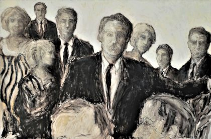 John Sønberg, Morten Jakobsen, Birgit Brænder, Art Expo, Uffe Lindberg Jakobsen og Ramus Walter Pedersen