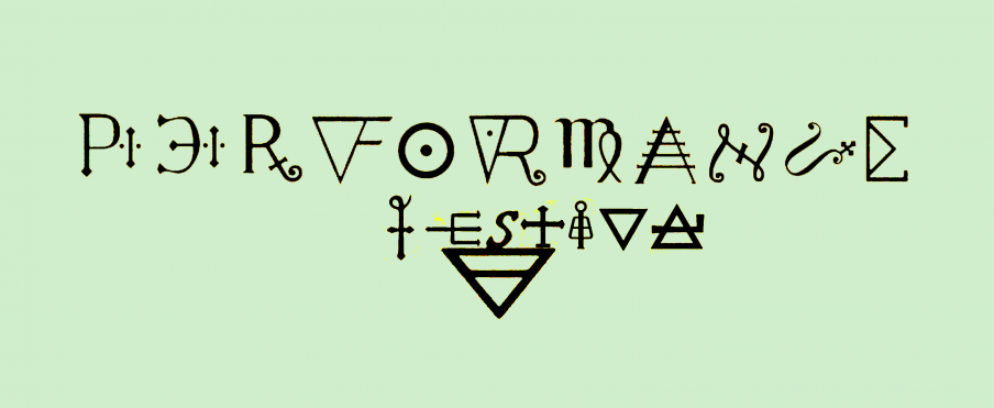 Performancefestival i samarbejde med PerformanceRum