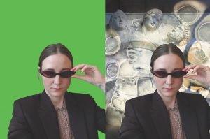 Louise Vind Nielsen: Inde i mit hoved, så er den mørkerød