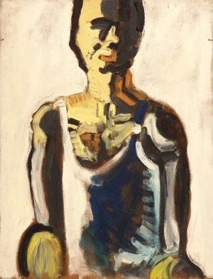Per Kirkeby: De første malerier
