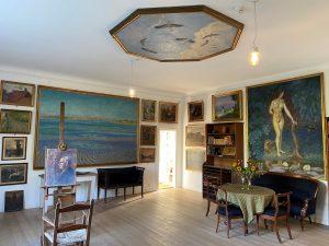 Villaen, Værkstedet og de faste samlinger