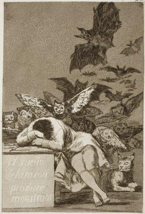 Francisco Goya – Los Caprichos (midlertidigt lukket)