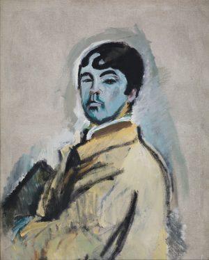 Mannen med det blå ansiktet
