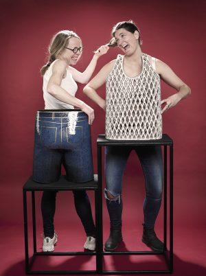 Karen Kjældgård-Larsen og Tine Broksø: #claydiesselfies,