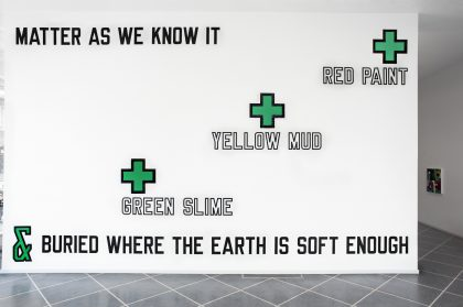 Lawrence Weiner: Close to a Rainbow