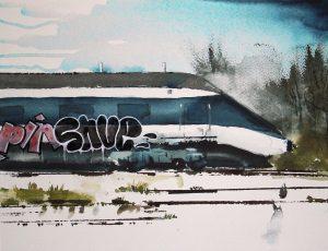 Temaudstilling: Akvarel
