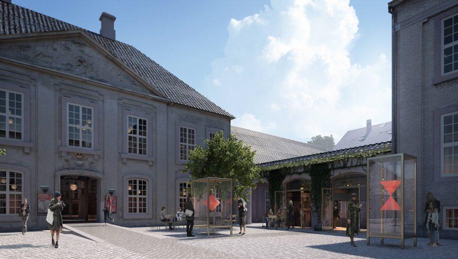 Ny plads foran Designmuseum Danmark