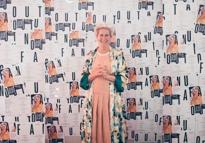 Sabine Poupinel inviterer til kunst- og modeudstilling